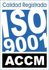 Certificación de calidad UNE-EN ISO 9001.2015