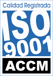 Quality certification UNE-EN ISO 9001.2015